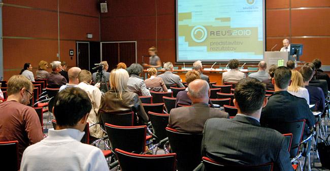 Predstavitev rezultatov Raziskave energetske učinkovitosti Slovenije - REUS 2010 / Raziskava REUS