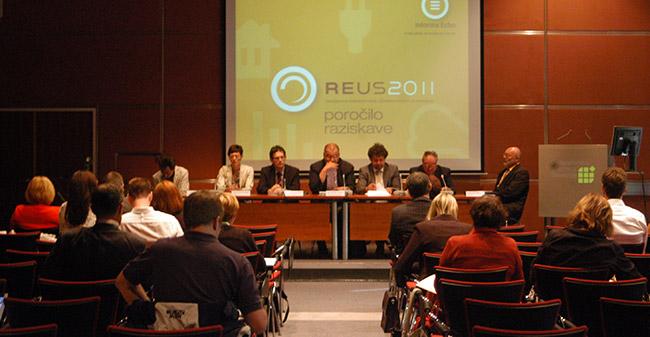 Predstavitev rezultatov Raziskave energetske učinkovitosti Slovenije - REUS 2011 / Raziskava REUS