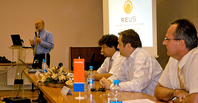 Predstavitev REUS 2029 / Raziskava REUS