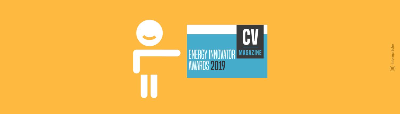 Nagrada CV Magazine za energetskega inovatorja za Informa Echo